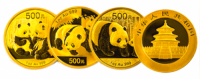 1 Unze Gold China Panda 1985
